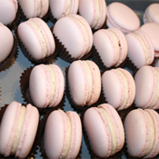Strawberry Passion Macarons